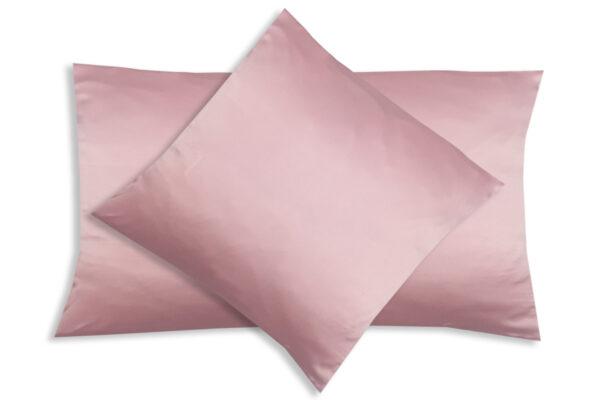 poszewka na poduszkę pudrowy róż