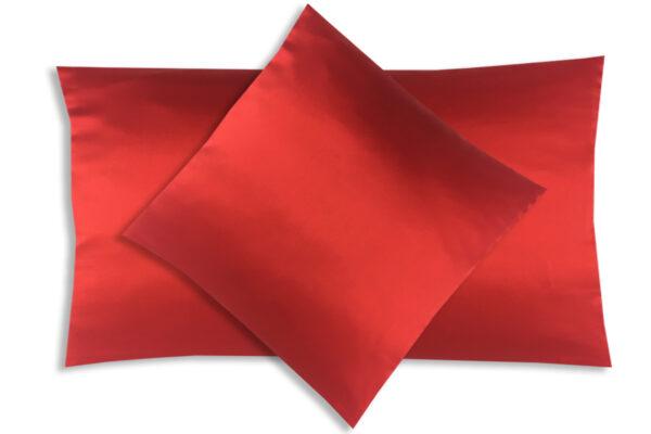 poszewka na poduszkę czerwień