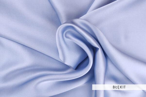 Jedwab morwowy błękit