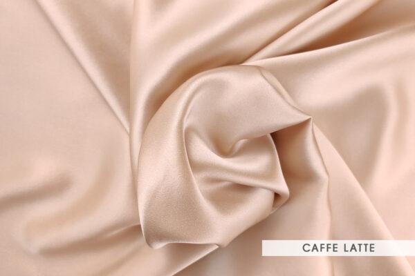 Jedwab morwowy caffe latte