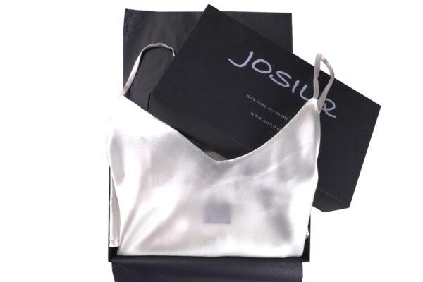 jedwabne dwuczęściowe piżamy pudełko