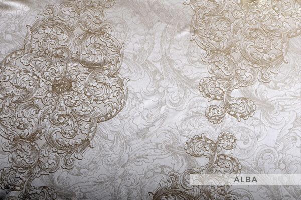 jedwabna pościel żakardowa alba