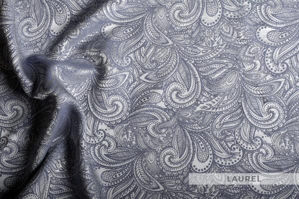 jedwabna pościel żakardowa laurel