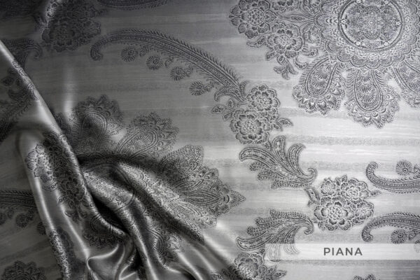 jedwabna pościel żakardowa piana